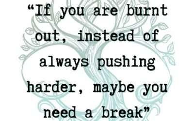 It's OK To Take A Break!