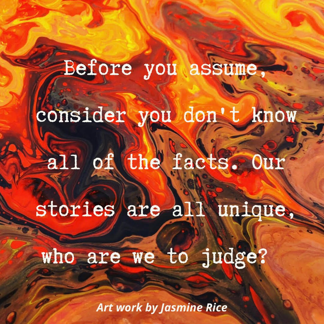 who are we to judge